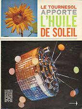Publicité 1963  Huile de Tournesol
