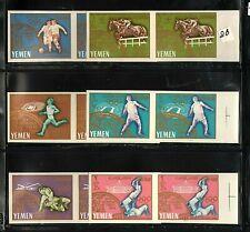 WORLDWIDE  OLYMPICS  1964  YEMEN  OLD SET, LOT  # 2 B  IMPERF