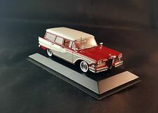 1958 EDSEL BERMUDA STATION WAGON - 1/43 MINICHAMPS RARE RED