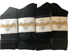 (4)Pack Bombas Men's Calf Socks Size EXTRA LARGE