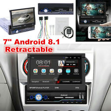 """1Din 7"""" Android 8.1 Car GPS Navigation WiFi Radio Auto Stereo Multimedia Player"""