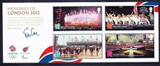 GB 2012 SGMS3406 Olympic Memories - mini-sheet - unmounted mint. Catalogue £9