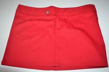 Dickies Mini Skirt 11 Woman's Juniors Red NEW