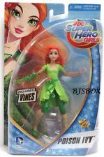 "DC Comics Super Hero Girls POISON IVY 6"" Doll Figure w/ Vines New Rare NIP"