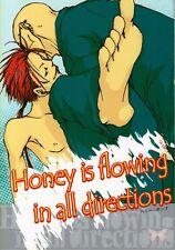Final Fantasy 7 Vii Ff7 Ffvii Yaoi Doujinshi Comic Rude x Reno Honey is flowing