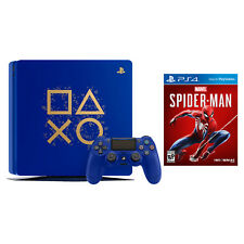 Sony PlayStation 4 1TB Limited Edition Days of Play and Marvel's Spider-Man