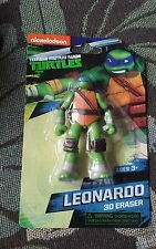 NICKELODEON TEENAGE MUTANT NINJA TURTLES LEONARDO 3D PUZZLE ERASER