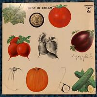 VINTAGE CLASSIC CREAM: Best Of Cream-U.S. LP 1969 Atco Records SD 33- 291 Stereo