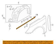 HYUNDAI OEM 11-15 Sonata Fender-Trim Molding Right 877723S001