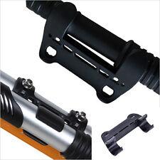Schwarz Mini Fahrrad Pumpenhalter Tragbare Pumpe Halteklammern Halterung CJ