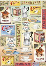 Papier de découpage Cuisine Café Coffee DFG316 Serviette