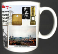 SHIREBROOK COLLIERY COAL MINE MUG. LIMITED EDITION GIFT MINERS DERBYSHIRE PIT