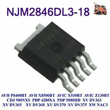 NJM2846DL3-18 IC for Pioneer AVH-P8400BT AVH-X8500BT CDJ-900NXS PDP-5080HD