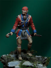 TARTAR MINIATURES 54-43 Mohawk warrior XVIII° century figurino 54mm