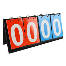 New listing 4-Digital Tabletop Sports Flipper Scoreboard For Volleyball Football Basketball