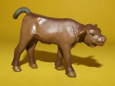 27) Schleich Schleichtier - Brown Calf Braunes Kalb alt 13005