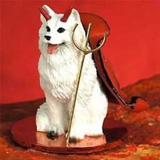 SAMOYED Devil Dog Tiny One Figurine Statue
