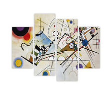 "EXTRA LARGE CANVAS PRINTS VASILY KANDINSKY COMPOSITION Viii 35""90CM XXL PICTURES"