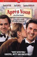 Apres Vous DVD Daniel Auteuil Sandrine Kiberlain NEW DVD