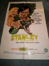 STANLEY(1972)CHRIS ROBINSON ORIG ONE SHEET POSTER