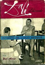 DALI AL DESNUDO – 1952 First Spanish Edition By Del Arco