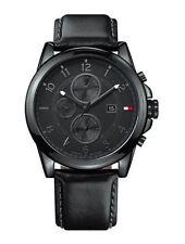Polierte Tommy Hilfiger Quarz - (Batterie) Armbanduhren mit Datumsanzeige