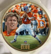 Denver Broncos John Elway The Quarterback Club Bradford Exchange Collector Plate