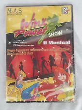 """""""Winx Power show Il Musical"""" film DVD animazione cartoni animati CD"""