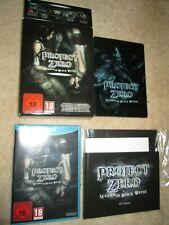 NEW Nintendo Wii U Project Zero:Maiden of Black Water Special Edition HTF V RARE
