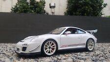 Maisto Porsche 911 997 GT3 RS 4.0 White 1:18/ Maisto Special Edition
