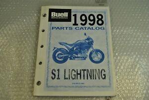 BUELL Parts Catalog Original S 1- Lightning Code PN-99571-9