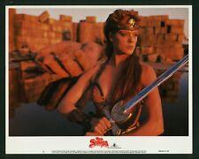 Red Sonja original 1985 lobby card 11x14 gorgeous Brigitte Nielsen MGM