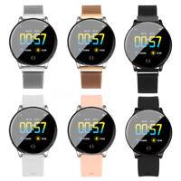 "Smart Watch Bracelet Sport Heart Rate Blood Pressure Monitor 1.3"" Touch Screen"