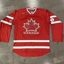Nike Team Canada 2010 Olympics Hockey Jersey Gold Medal Men's Size Medium Blank