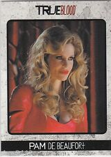 TRUE BLOOD ARCHIVES P5 SAN DIEGO COMIC-CON EXCLUSIVE PROMO CARD PAM DE BEAUFORT