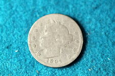 ESTATE FIND 1897 Liberty Nickel!! #F3080