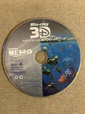 Finding Nemo (Blu-ray 3D Disc, 2016) Disc Only - No Tracking