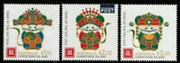 Christmas Island 2020 : Lunar New Year of the Rat, Design Set. Mint Never Hinged