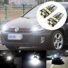 Para Golf MK4 Blanco xenon LED Luz Lateral Bombillas Canbus libre de error de la viga X2