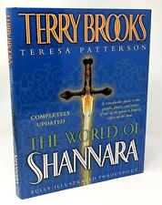 World of Shannara ~ Terry Brooks & Teresa Patterson ~ HC/DJ Free Shipping!