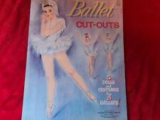 """Vtg. (1962) ~ """"Ballet Cut- Outs"""", By Whitman c27"""