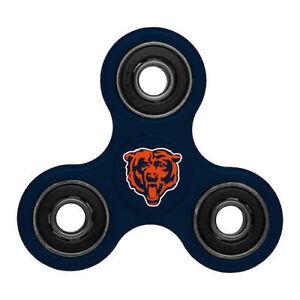 Chicago Bears Diztracto Spinner Team Logo 3-way Toy Stress Fidget Hand Finger