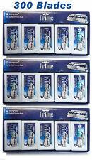 300 ct Dorco Prime Platinum Safety Shaving Razor Blades (30 PACKS OF 10 BLADES)