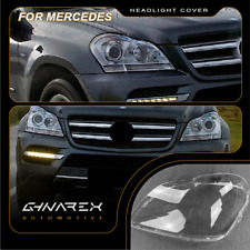For Mercedes GL-Class X164 2006-2012 Headlight Lens Replacement Cover LEFT+RIGHT