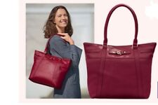 Sac Daniel HECHTER simili cuir rouge NEUF sous blister