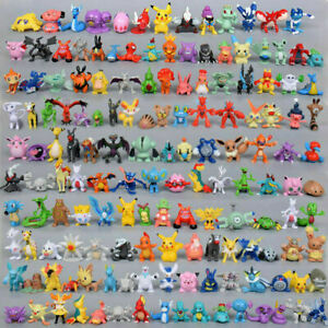 New 24pc/144pc Pokemon Action Figures Pockit Monster Toys Kids Presents Gifts