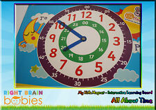 Kids Magnet All About Time - Educational Interactive Learning Magnetic Board