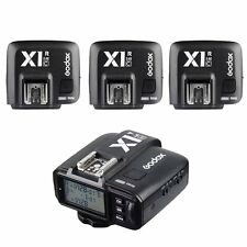 Godox X1N 2.4GHz TTL Wireless Flash Controller Trigger + 3 Receivers For Nikon
