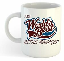 The Worlds Best Retail Manager Mug