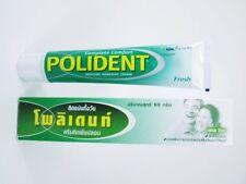 POLIDENT DENTURE 20 GRAM ADHESIVE CREAM GLUE  COMFORT REDUCE GUM IRRITATION FREE